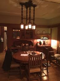 craftsman lighting dining room. Arts And Crafts | Craftsman Bungalow Dining Room. LightingCraftsman Lighting Room