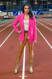 track star Sydney McLaughlin ...