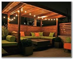 10 best covered patio lighting design ideas simple with pergola image covered patio lights g5 patio