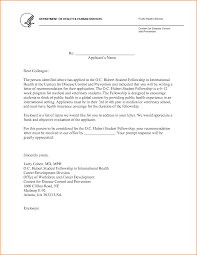 Medical School Letter Of Recommendation Sample From Doctor