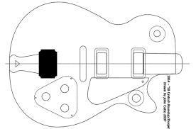 Gretsch Duo Jet Guitar Templates Electric Herald
