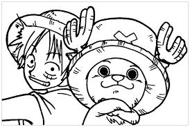 Tranh tô màu One Piece đẹp - Phụ Kiện MacBook Chính Hãng