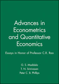 advances in econometrics and quantitative economics essays in  advances in econometrics and quantitative economics essays in honor of professor c r rao