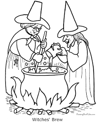 Small Picture halloween coloring pages These free printable witch Halloween