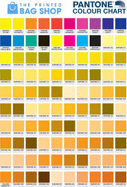 Orange Pantone Color Chart Pantone Colour Guide The Printed Bag Shop Pantone Numbers