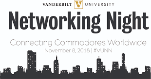 november 8 at the fifth annual vanderbilt university networking night seattle will join more than 30 vanderbilt chapters worldwide in connecting vu