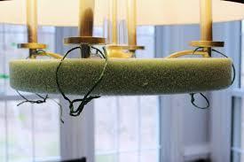 flower chandelier suspend