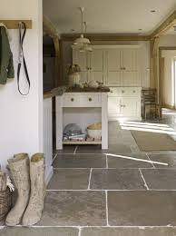 Cobble Floors in Country House