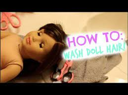 how to fix american doll hair