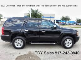 For Sale $19,995 - 2007 Chevrolet Tahoe black z71 4wd black with ...