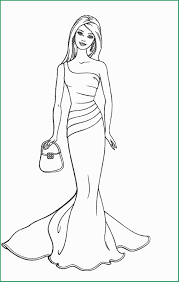 Coloring Pages For Girls Lovely Barbie Coloring Pages Printable To