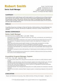 Audit Manager Resume Samples Audit Manager Resume Samples Qwikresume