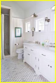 appealing tile bathroom. Shabby Chic Bathroom Tiles Appealing Family Friendly Beach House White On Grey Tile T
