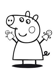 Tutti i nostri dettati ortografici adatti ai bambini della classe seconda della scuola primaria. 54 Disegni Di Peppa Pig Da Colorare Pianetabambini It