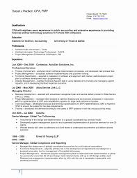 Ernst And Young Resume Sample Accounting Resume Samples Canada Fresh Cover Letter Senior 3