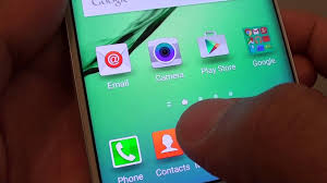 Samsung Galaxy S6 Edge How to Set Default Home Screen Page
