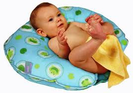 image of baby bath seat with suction cups