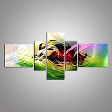aluminum painting and 3d metal wall art