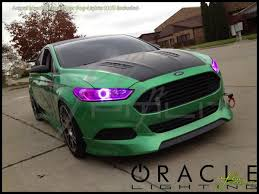 Ford Fusion Lights Oracle 13 16 Ford Fusion Led Colorshift Halo Rings Headlights Bulbs