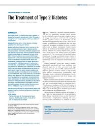 The Treatment Of Type 2 Diabetes 31012014