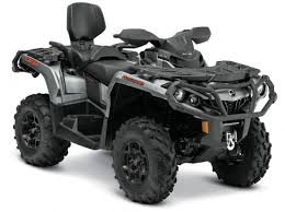 2015 can am atv and utv lineup unveiled atv com this brushed aluminum can am red is available on several can am models