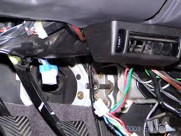 1995 3000gt vr 4 turbo timer installation after disconnecting the ignition switch harness you ll have a male and female end of the oem wiring harness hanging there those get connected to the two