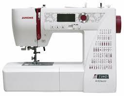 <b>Швейная машина Janome</b> ArtDecor 734D — купить по выгодной ...