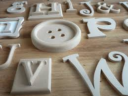 Letter Wall Art Decorative Alphabet Letters For Walls Wooden Alphabet Wall  Letters