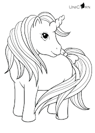 Unicorn Coloring Pages Free Printable Coloring Unicorn Coloring Page