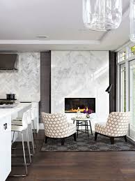 inspiration for a mid sized contemporary formal and open concept dark wood floor and brown