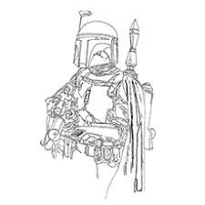 Boba Fett Free Coloring Pages On Art Coloring Pages