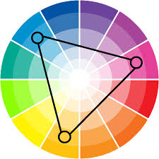 harmonious colors | triadic colour scheme a triadic colour scheme uses  colours that are .