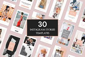 Not free, but cheap, have a look at koolmoves.it has svg export. 30 Instagram Stories Templates 148497 Instagram Design Bundles Instagram Story Template Instagram Post Template Instagram Design