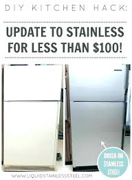 stainless steel paint how to paint stainless steel painting over appliances sink black how to paint stainless steel paint