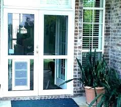 french patio doors with doggie door french patio doors door door pet door installed pet door