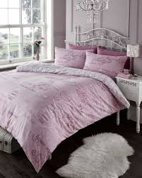 french paris themed duvet cover bedding set pink beige