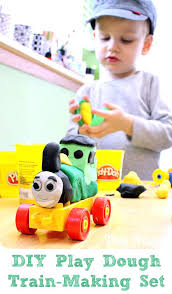 toddler train set play dough train set from play trains put together a train making set
