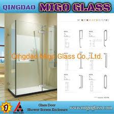 china shower glass shower screens