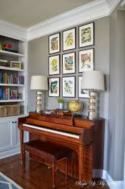 piano lighting ideas. melody loves the idea of an upright piano in our living room. like lamps lighting ideas :