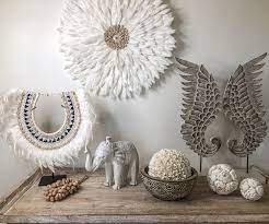 wall decoration feather decoration