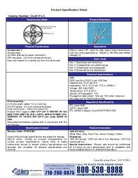 form l5 product specification sheet catalog number 24 4p l5 form
