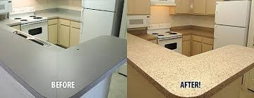 refinishing countertop