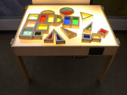 Kids Light Board Light Table Love These Blocks Amazing Fun For The Light