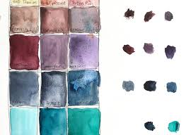 Daniel Smith Watercolor Dot Chart Daniel Smith 15ml Watercolours