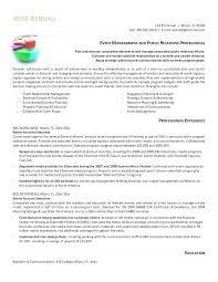 Public Relations Resume Resume For Public Relations Letsdeliver Co