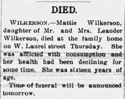 Wilkerson-Mattie Obituary - Newspapers.com