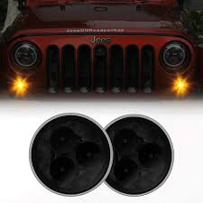 Sunpie Led Lights Amazon Com Sunpie Amber Front Led Turn Signals For Jeep