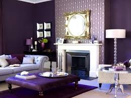 Purple And Grey Living Room Ideas Modern Rectangular Light Blue ...