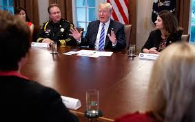 president donald trump speaks during a roundtable on immigration policy in california at the white house may 16 2018 ap photo evan vucci