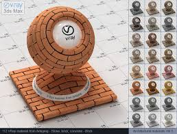 vray materials vray brick material